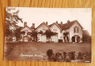 1922 Photo Postcard House Sandhayes Corsley Wiltshire