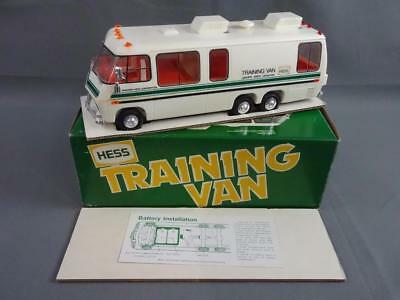 Vtg 1980 HESS Training Van Complete Working in Box w/ Instructions & Inserts - A