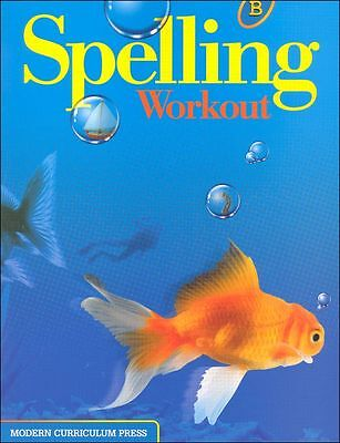Grade 2 MCP Spelling Workout Level B Student Book 2nd Modern Curriculum Press