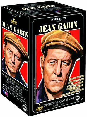 Coffret Collector 5 DVD Jean Gabin NEUF sous cellophane
