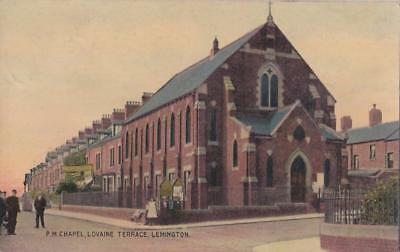 Pc Lemington P. M Chapel  And Street Scene Newcastle Tyne And Wear Posted 1908