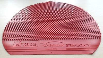 Used Table Tennis Rubber -  SpinLord Strahlkraft  OX W159 x H160