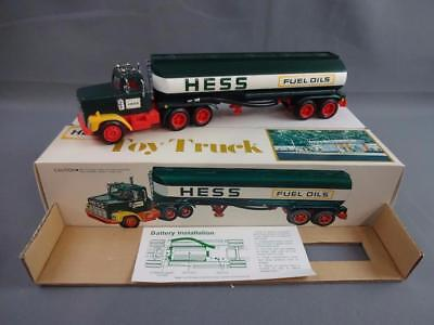 Vintage 1977 Hess Fuel Oils Toy Truck w/Box, Instructions & Inserts - B