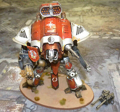 Imperial Knights - Knight Warden - Warhammer 40k - Pro Painted