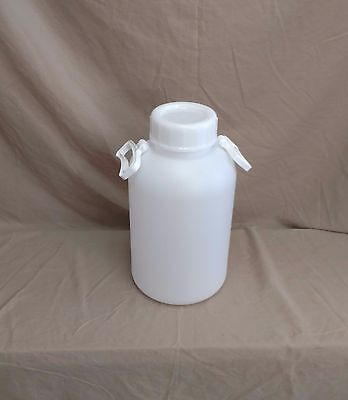 Small 10 Liter (2.6 Gallon) Thick Plastic Bottle With Handles, New! KM-340 (One)