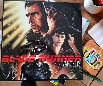 Blade Runner Soundtrack OST Ltd Ed Red Vinyl UNPLAYED! Vangelis