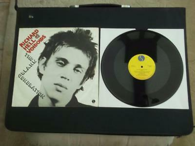 "Richard Hell And The Voidoids The Blank Generation 3 Track 12"" Vinyl Record Ep"