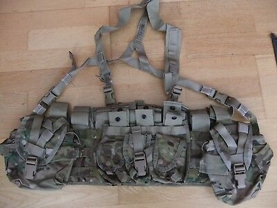 Genuine US army Multicam combat operation vest 12 mag pouches