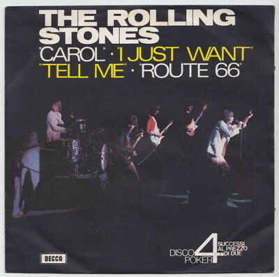 The ROLLING STONES * Carol * 1973 ITALY EP *
