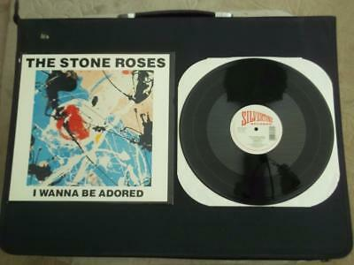 "The Stone Roses I Wanna Be Adored 1989 Us 3 Track 12"" Vinyl Record Ex/ex"