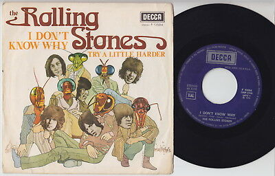The ROLLING STONES * I Don't Know Why * 1975 ITALIAN 45 * Listen!
