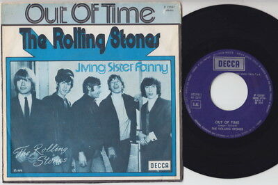 The ROLLING STONES * Out Of Time * 1975 ITALY 45 *