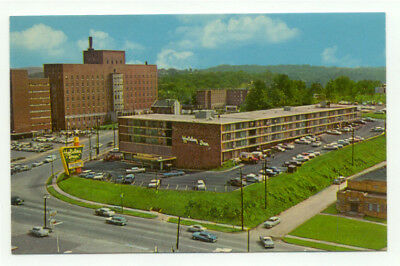 Downtown Knoxville TN Holiday Inn Vintage Postcard - Tennessee
