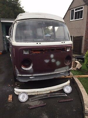 Volkswagen VW Westfalia Continental Late Bay Window T2 Camper Unfinished Project