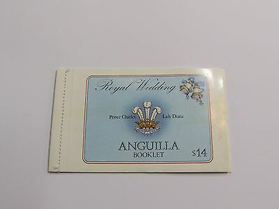 1981 Anguilla Royal Wedding Stamp Booklet