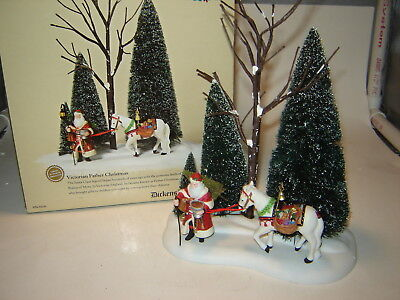 Dept 56 Dickens Village - Victorian Father Christmas - A Victorian Christmas