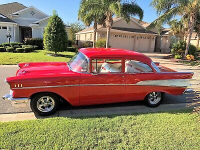 1957 Chevrolet Bel Air/150/210  1957 CHEVY BEL AIR Gotta See It To Believe It, Immaculate, Not Stock, Gorgeous