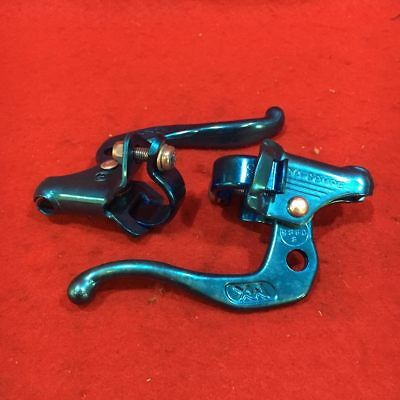 Nos Vintage Dia Compe Mx Blue Brake Levers Fr 1985 Haro Freestyler Bike Kit