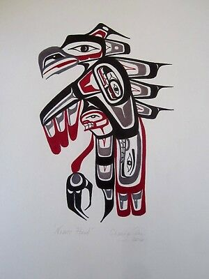 Northwest Coast Art - Nighthawk - Original Painting