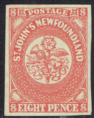 Canada Newfoundland  #8 VF mint no gum stamp