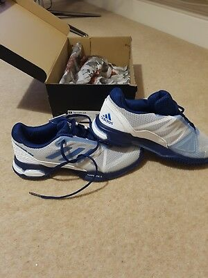 adidas barricade tennis shoes size 7.5