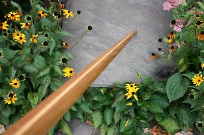Tapered Oak Bo Staff 68.5in Handmade Demonstration/Karate/aikido/martial arts