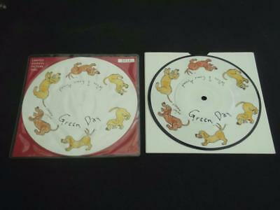 "Green Day When I Come Around 1995 Uk Press 7"" Vinyl Record  Picture Disc Single"