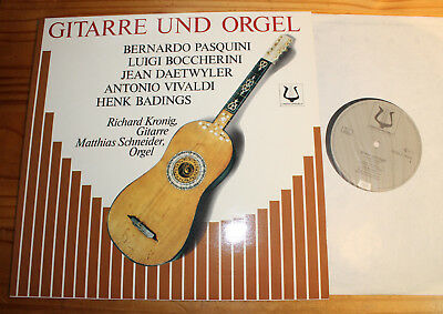 Music for GUITAR and ORGAN LP CHRISTOPHORUS