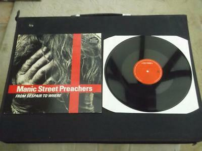 Manic Street Preachers From Despair To Where 1991 Uk 4 Track Vinyl Record Ex/ex