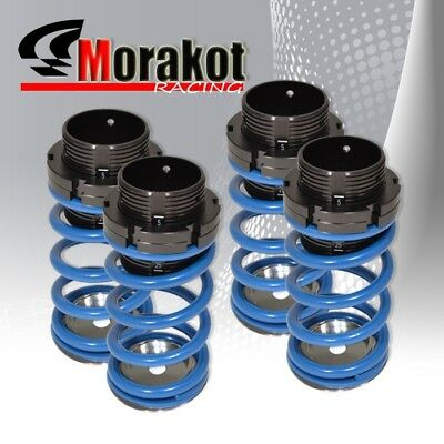 New 90-97 Miata Mx5 Scale Adjustable Coilover Lowering Spring Kit Dual Lock Blue