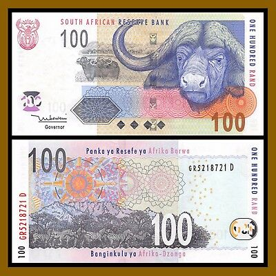 South Africa 100 Rand, ND 1999 P-126b Unc