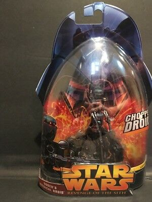 STAR WARS-REVENGE OF THE SITH Fig 37 ,VADER'S MEDICAL DROID, Chopper Droid!  NOS