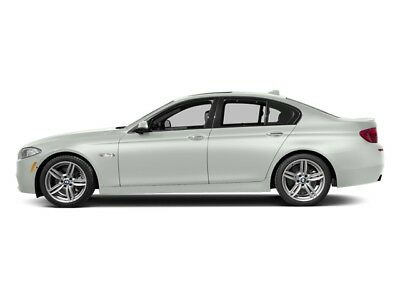 2014 BMW 5-Series 535d 535d 5 Series 4 dr Sedan Automatic Diesel 3.0L Straight 6 Cyl WHITE