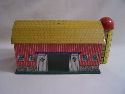 Tin Barn & Silo Vintage Toy Ohio Art Company