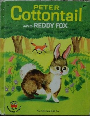 Peter Cottontail and Reddy Fox by Burgess, Thornton
