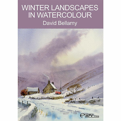 DVD : Winter Landscapes in Watercolour : David Bellamy