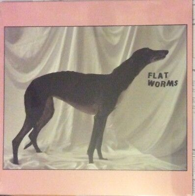 Flat Worms - Self Titled Debut Vinyl Lp Limited White Vinyl New Mint Sealed