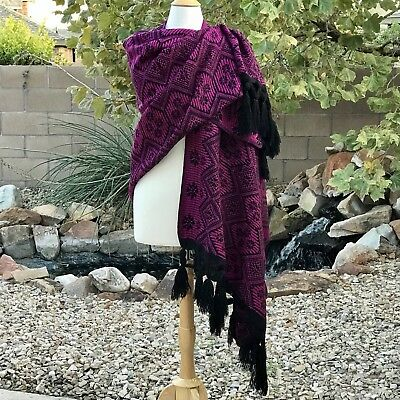 Mexican Rebozo / Shawl  Thick and Warm