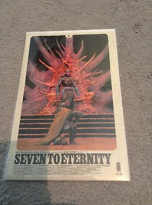 Seven To Eternity Lot Of 6 Books #1 Image Firsts, #2, #4, #5 A,b,c Vf-Nm