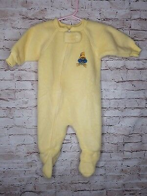 Vintage 1970's Paddington Bear Eden Toy Store Sleeper Onsie Sz M 70s NEW /AB