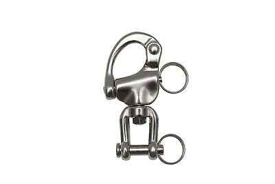 AISI Swivel Snap Shackle w Jaw 87mm BL 2,800Kg
