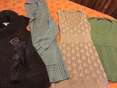 LOT Of Womens Maternity Clothes Sz Large