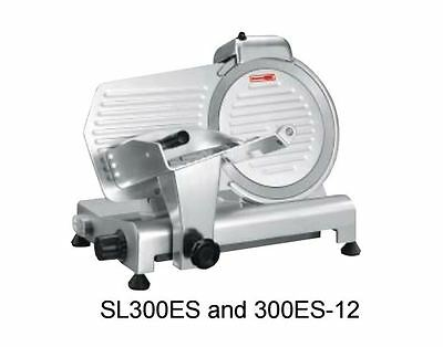 """Meat Slicer, manual, 12"""" dia, angle/gravity feed, light duty, Adcraft SL300ES"""