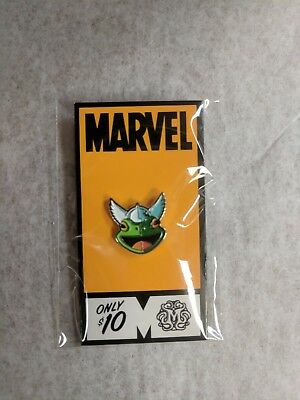 Mondo Tees Marvel Lapel Pin Limited Edition Frog Thor X-men by Tom Whalen