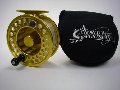 World Wide Sportsman GOLD CUP III Ltd. Edition FLY Fishing REEL For 8/9 WT Rod