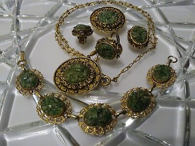 🌠vintage/ Modern Mixed Jewelry Lot Of Nice 5 Pieces Set