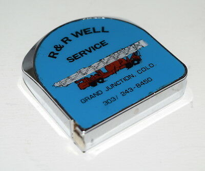 R & R Well Service Grand Junction, Colorado Advertising Lufkin Tape Measure