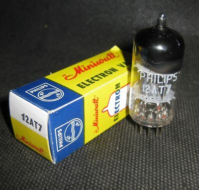 NOS Vintage Vacuum Tube PHILIPS Miniwatt 12AT7 Pre-amp.