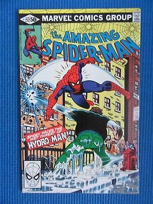 Amazing Spider-Man # 212 - (Vf) - 1St Appearance Of Hydro-Man