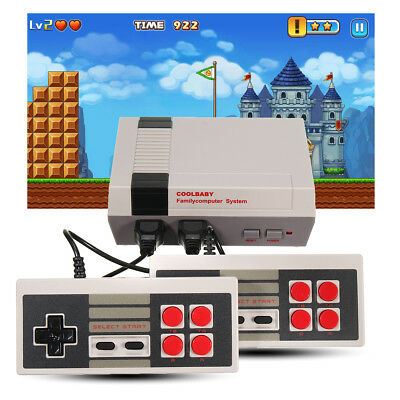 Xmas Video Game Console Family TV Childhood With 500/600 Games For PAL HDMI